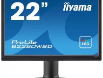 "Monitor LCD iiyama B2280WSD-B1 22 ""ProLite 1680x1050 negru"