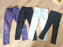 Set pantaloni/colanti/blugi 5-6 ani 110-116 Zara H&M F&F