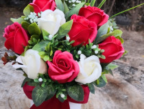 Realizam Cadouri, aranjamente  flori din sapun sau hartie