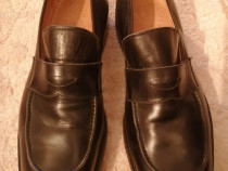 Pantofi noi din piele naturala RICK MASTER, nr.45