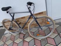 Bicicleta pegas clasic fix man 3s gri