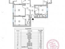 Apartament 4 camere, 100mp, P/4, Bucuresti -Baicului