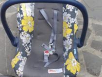 Cărucior copii +Scaun scoică pt mașina bebeluși.