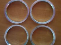 Inele centrare jante noi din aluminiu 72.5-65.1 mm, VW T5,T6