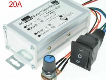 Regulator de turatie motor cc PWM 20A 9-60V -Schimbare sens.