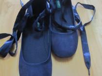 Pantofi Balerini United Colors of Benetton,mar 38,catifea