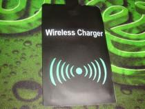 Adaptor telefon Samsung receptor wireless charger micro usb