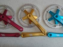 Angrenaje pedalie Sturmey Archer 46t sau 48t diverse culori