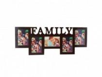 Rama Colaj - Family - 5 Fotografii 65x25 Cm