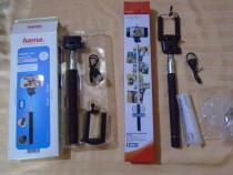 Selfie Stick Bluetooth, cu telecomandă integrata, acumulator