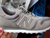 Pantofi sport New Balance, 37.5, piele naturala, noi