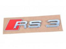 Emblema RS3 Oe Audi A3 8P 2003-2013 8P08537402ZZ