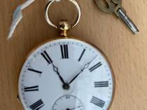 Ceas de buzunar ancre carcasa din aur
