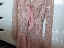 Rochie eleganta cu paiete!
