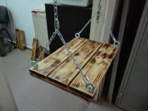 Leagan pentru copii din lemn