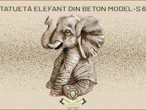 Statuetă elefant mic, din beton, model S62.