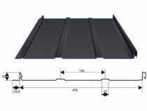 Panou pentru acoperișuri 0.5 mm MAT Plus RetroPlus BlachoTra