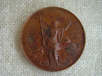 Medalie Ion Bratianu 1891 (Gravor P. Telge) - 50 mm