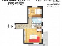 Apartamentcu 2 camere, suprafata utila 66.80mp, Bragadiru