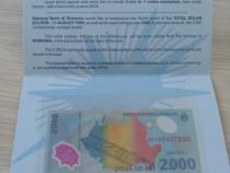 Bancnote cu eclipsa totală de soare-edIție limitată BNR