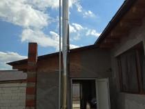 Cos de fum din inox izolat 150 / 200 x 5 m