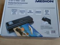 Scanner fotografii 10x15 si carti de vizita Medion