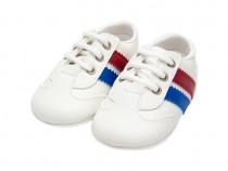 Pantofi bebe botez | Pantofi casual | Pantofi albi baieti