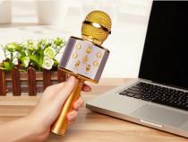 Microfon Karaoke fara fir WS-858, Acumulator incorporat