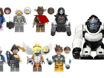 Set 8 Minifigurine tip Lego Overwatch + optional Winston