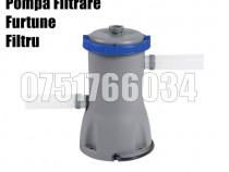Pompa Sistem Filtrare Curatit Apa 1249L/ora + Filtru + Furtu