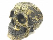 Decorațiune handmade din ceramica Craniu