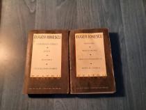 Teatru Eugen Ionescu 2 volume