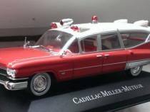 Macheta Cadillac Miller Meteor Ambulanta 1959 - Atlas 1/43
