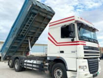 Camion DAF transport cereale basculabil axa lift.+finantare