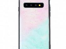 Husa telefon Plastic Samsung Galaxy S10 g973 Marble Glitter