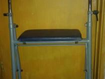 Cadru de mers cu rotile si scaun pt pers dizabilitati