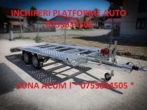 Inchiriez platforma auto, transport auto pe platforma