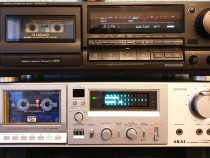 Deck Technics RS-BX 727 & Deck AKAI F37