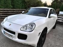 Porsche Cayenne 2006 Benzina+GPL Alb Perlat Impecabil