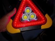 Triunghi reflectorizant lanternă avarie intermitenta lumini
