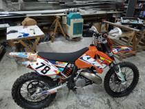Moto KTM EXC 250 2t an 2007