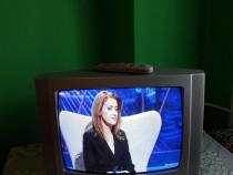 Televizor BEKO cu telecomandă.