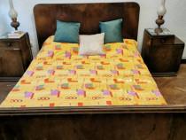 Mobila lemn masiv dormitor