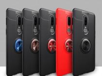Husa OnePlus 6 Husa TPU Finger Ring Kickstand U04000452