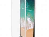 Folie Sticla 3D Full Cover iPhone X 10 protectie ecran stick