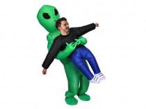 Costum gonflabil rapire extraterestru alien abduction Cos