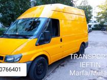 Transport Ieftin Marfa Divera /Mutari