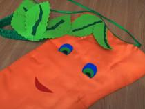 Costum Morcov copii Carmaval Halloween Serbare