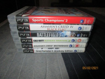 Jocuri PS3 PlayStation 3  In stare foarte buna, poze reale