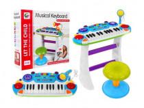 Orga electronica multifunctionala cu pian si microfon